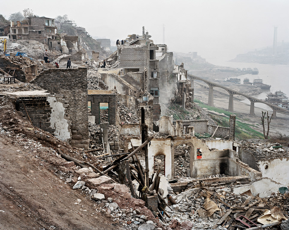 Wan Zhou #2  Three Gorges Dam Project, Yangtze River, China, 2002