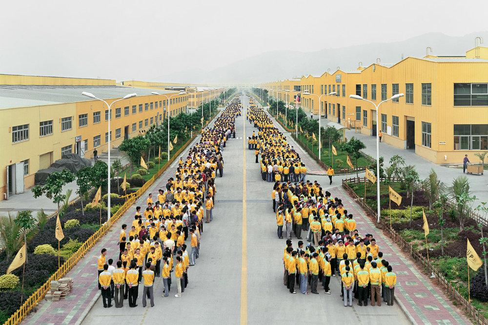 Manufacturing #18  Cankun Factory, Zhangzhou, Fujian Province, 2005