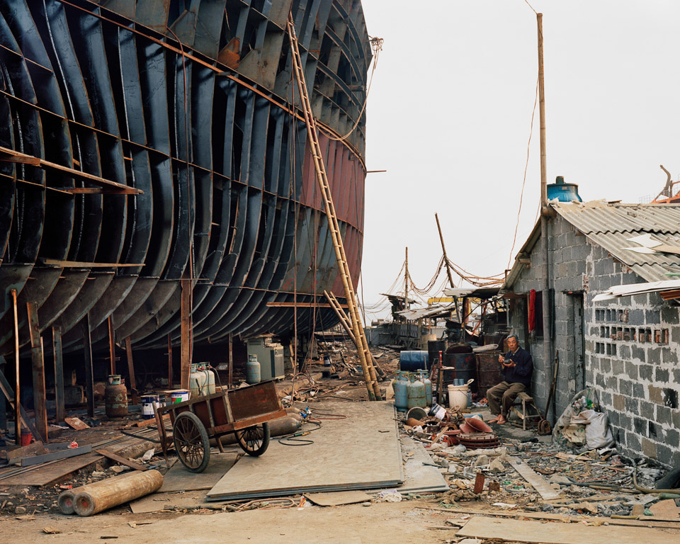 Shipyard #21  Qili Port, Zhejiang Province, China, 2005