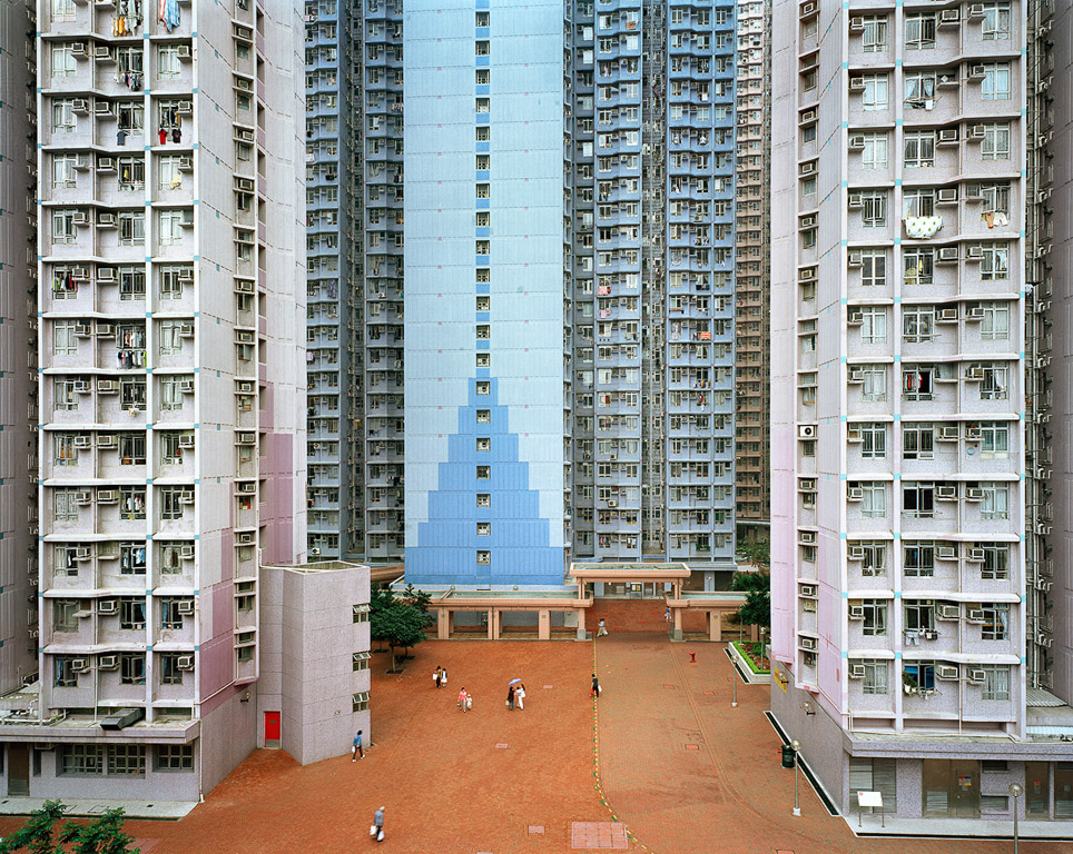Urban Renewal #6  Apartment Complex, JiangjunAo, Hong Kong, 2004