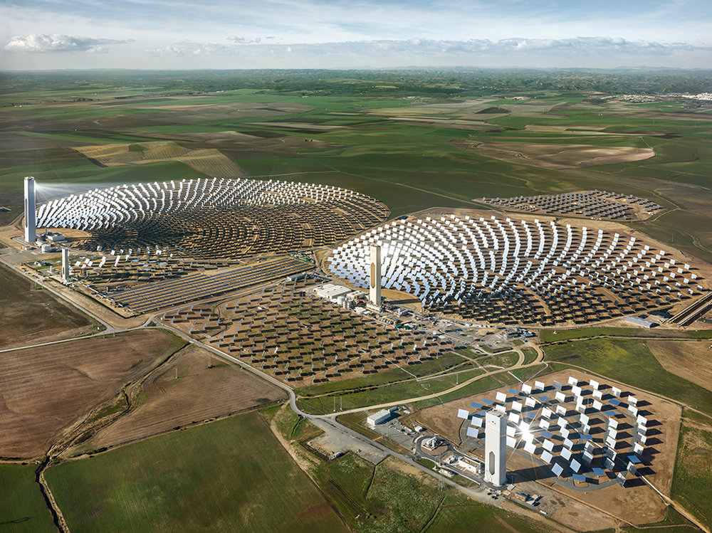 PS10 Solar Power Plant, Seville, Spain 2013