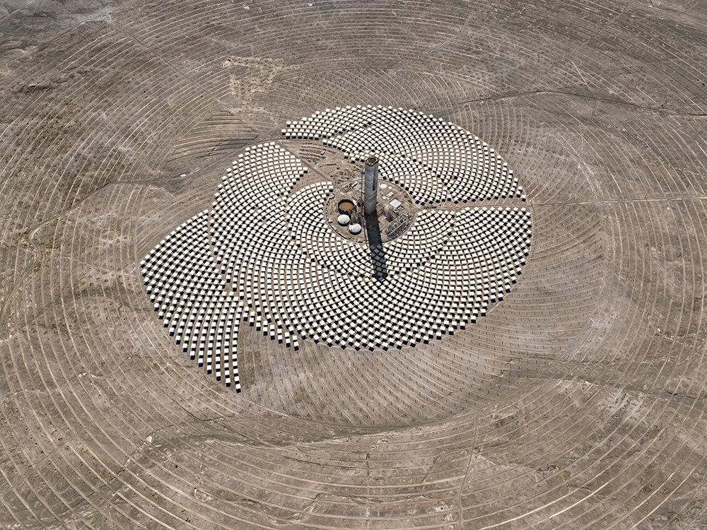 Cerro Dominador Solar Project #1, Atacama Desert, Chile 2017