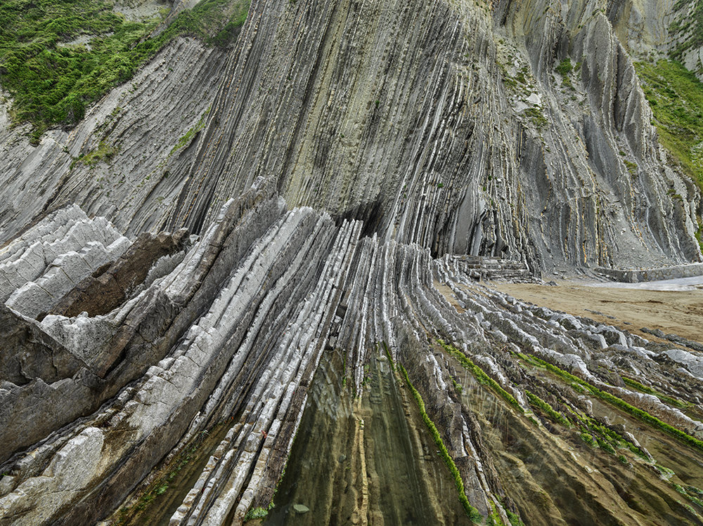 Basque Coast #1,   UNESCO Geopark, Zumaia, Spain, 2015