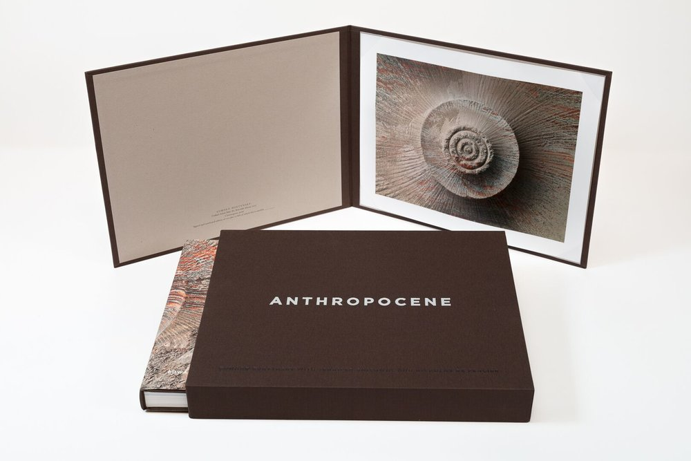 Anthropocene Slip Case With Book & Print