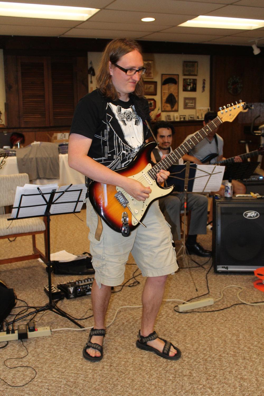 Paco Higdon(Vocals + Guitar) -