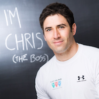 CHRIS BURGESS FOUNDER OF LIFT THE BAR