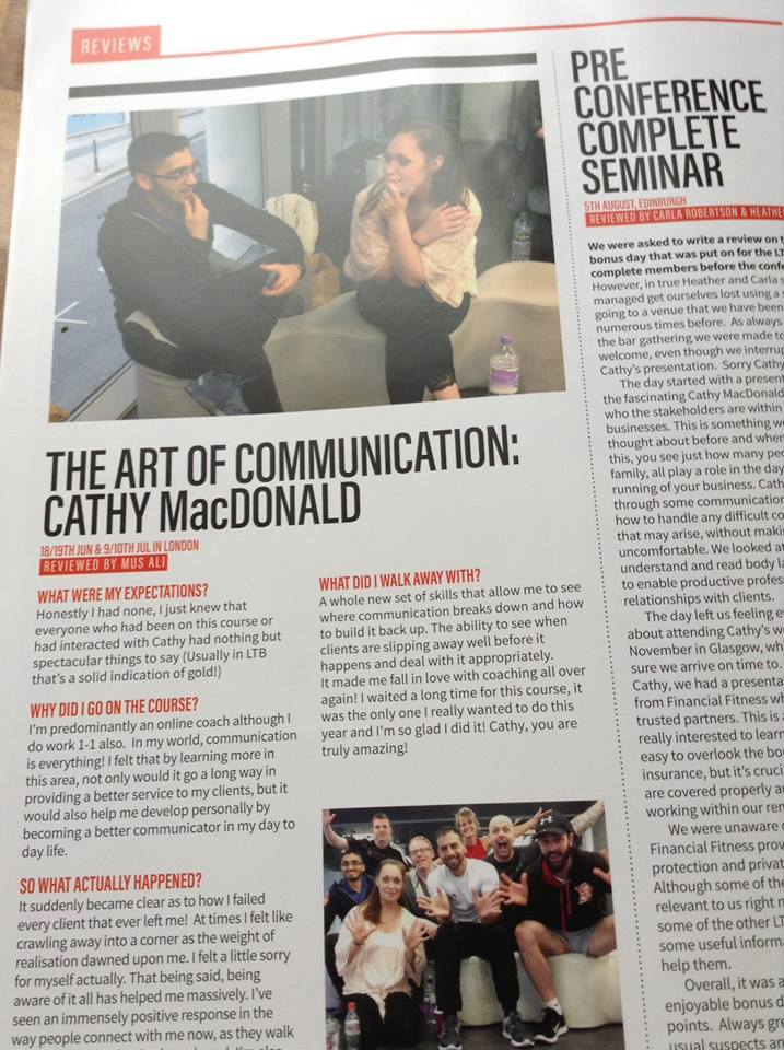 Art of Communication Hits the Mark!     -