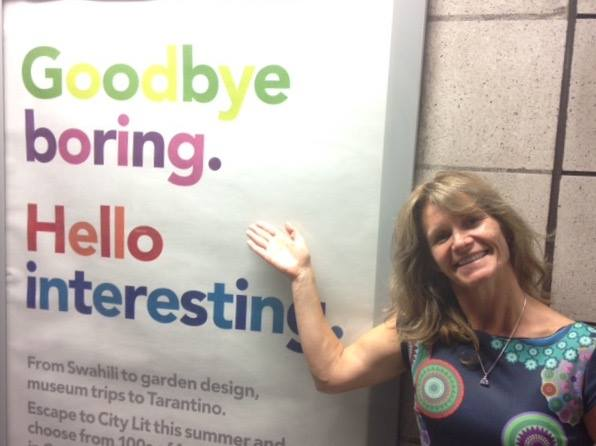 A Very Fitting London Underground Sign ! - Thank You :-)  -