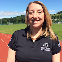 MORVEN FOUNTAIN EVENT OFFICER   TRIATHLON SCOTLAND