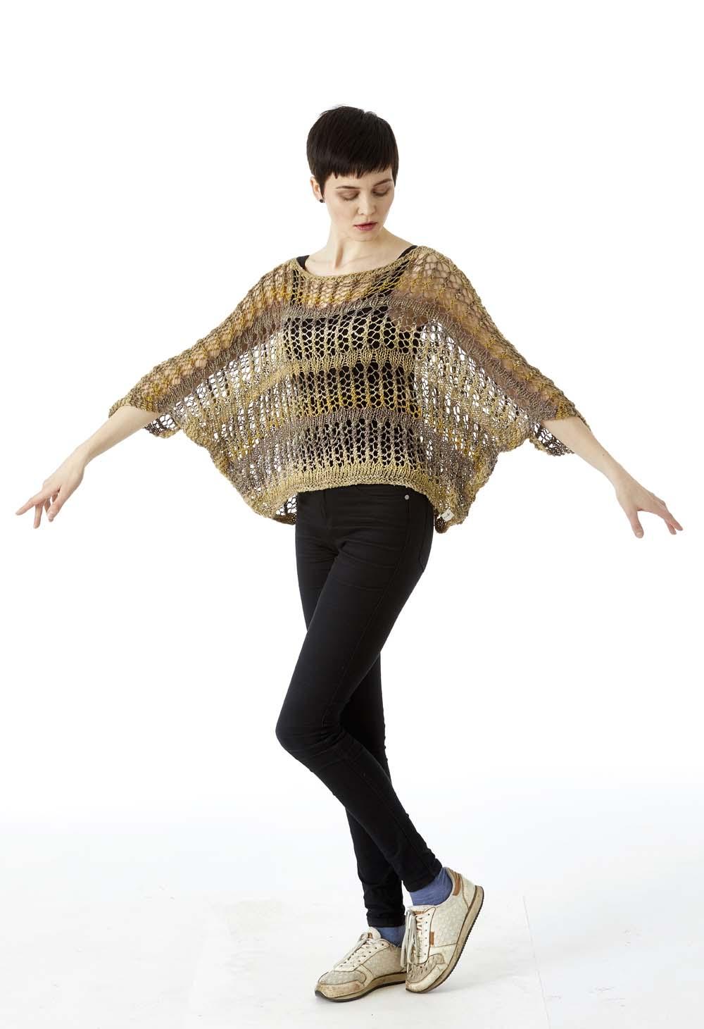 Bluse fra min strikkebog Proces, Produkt, Performance.