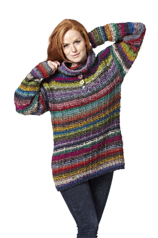 anerkendte mærker så billigt nyt højt VOKSEVÆRK - sweater. Strikkeopskrift — Lotte Kjær Design