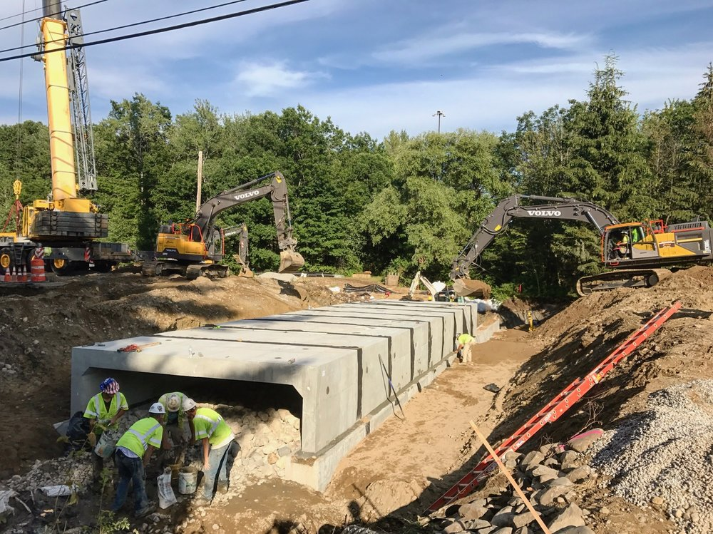 Industrial Road Box Culvert Replacement - Saco, Me.