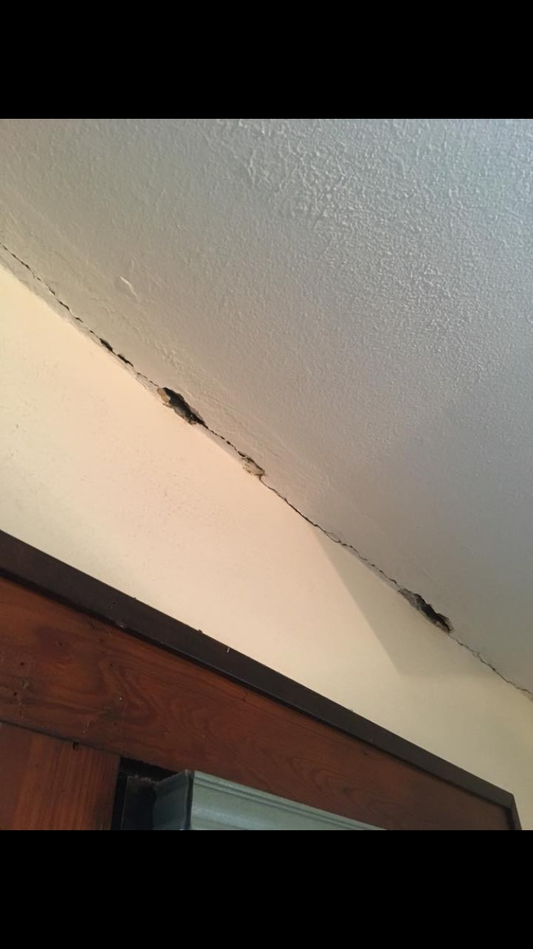Before of Water Damage