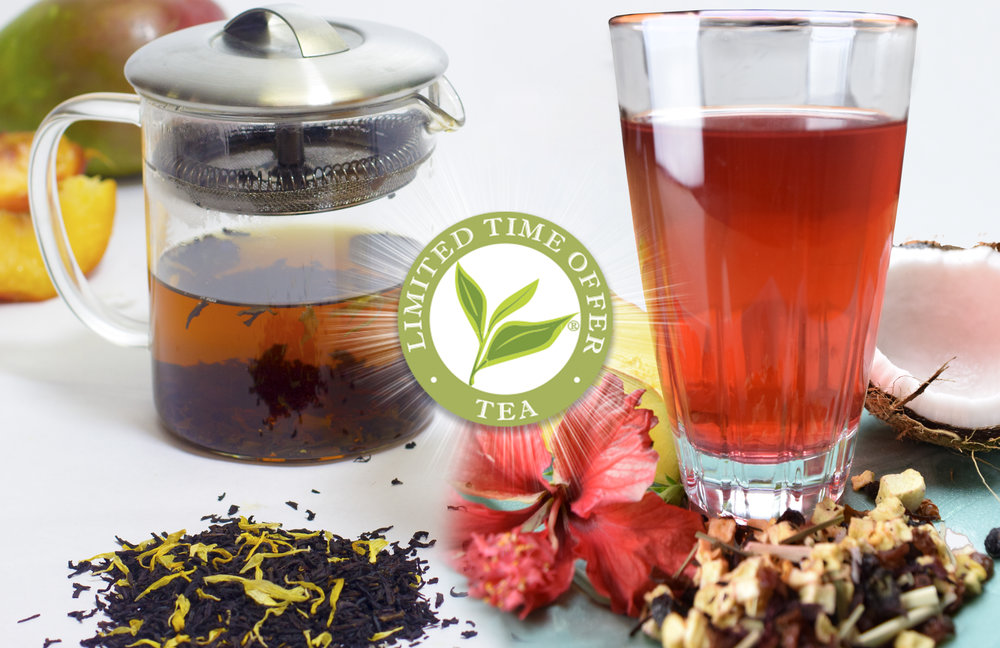 Our Summer Limited Time Offer Teas arrive May 18, 2017