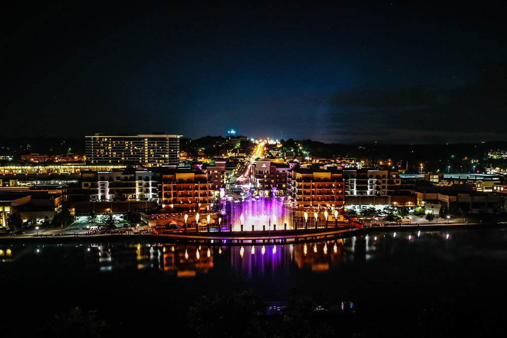 Branson Landing's Annual Liberty Light Up is a must see Fireworks Display