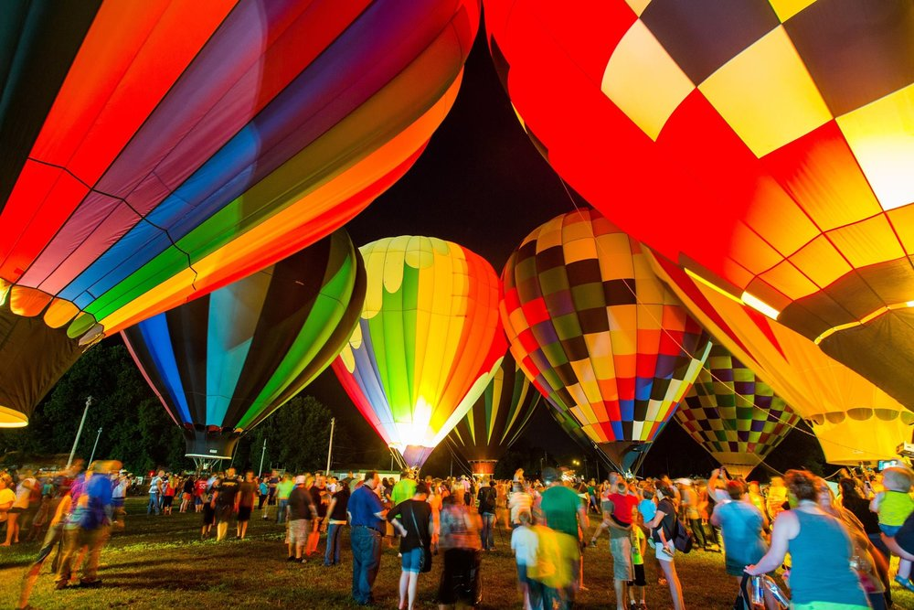 11th Annual Hot Air Balloon Glow