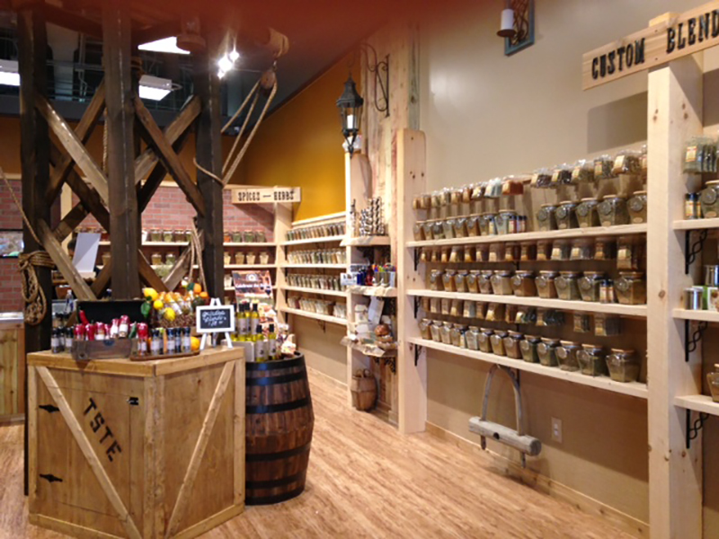 The Spice & Tea Exchange™ of Branson - Our retail boutique is located within the Branson Landing on the Bass Pro side in suite 215.Hours: Mon-Sat 10-9, Sun 10-8Ph: 417-335-2102