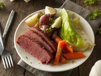 Smoky Corned Beef & Cabbage