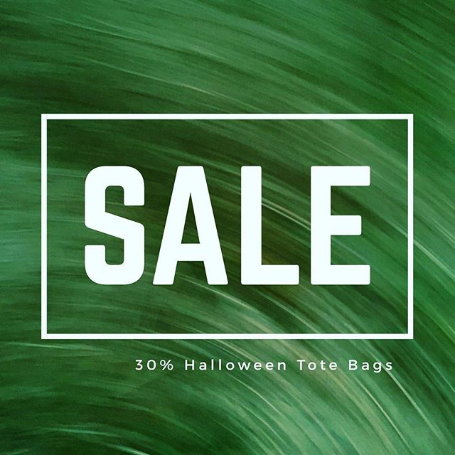 Our Friday the 13th weekend sale has been extended one more day! 30% off Halloween Tote Bags ends tonight! #shallowecologist #halloween #totebags #fridaythe13th #sale #organiccotton #organic #totebag #unicorn #snake #fun #trickortreat
