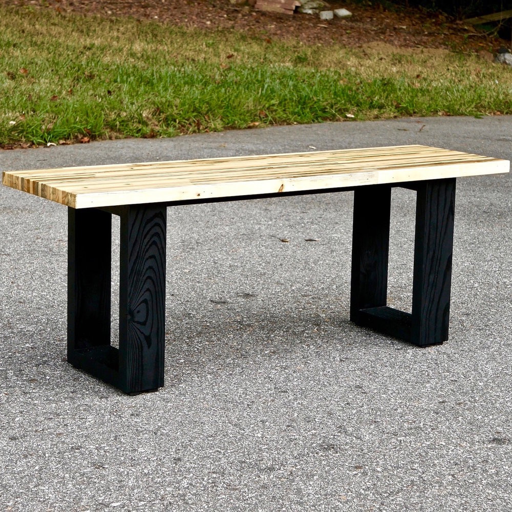 Groovy How To Build A Modern Pallet Wood Bench Crafted Workshop Gmtry Best Dining Table And Chair Ideas Images Gmtryco