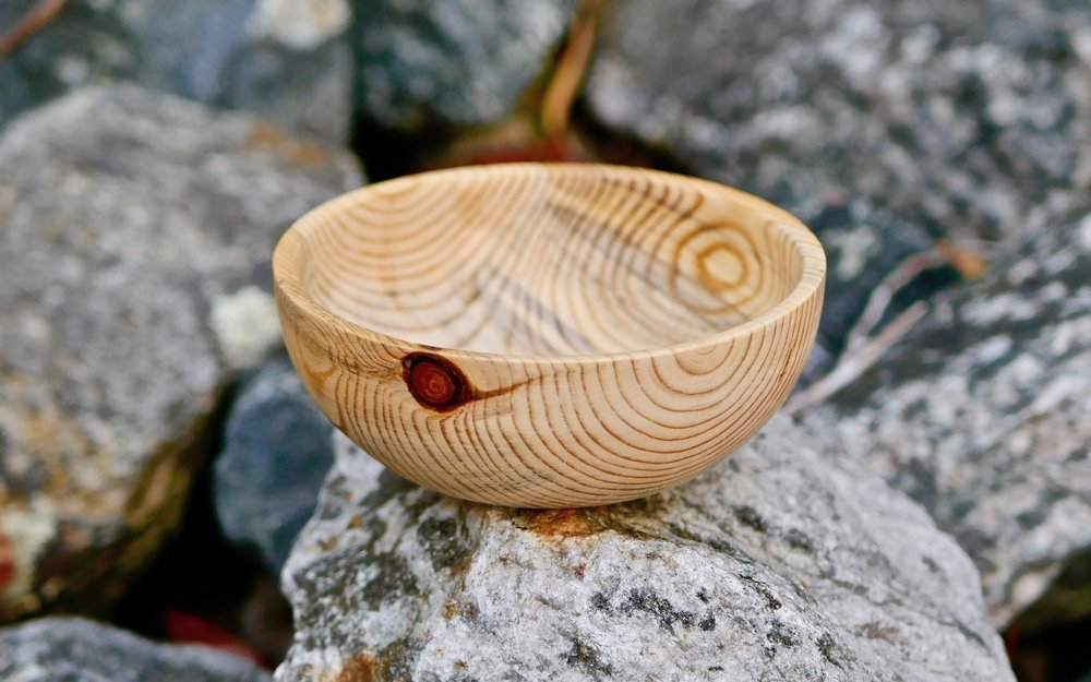 From Firewood Log To Bowl My First Woodturning Project Crafted