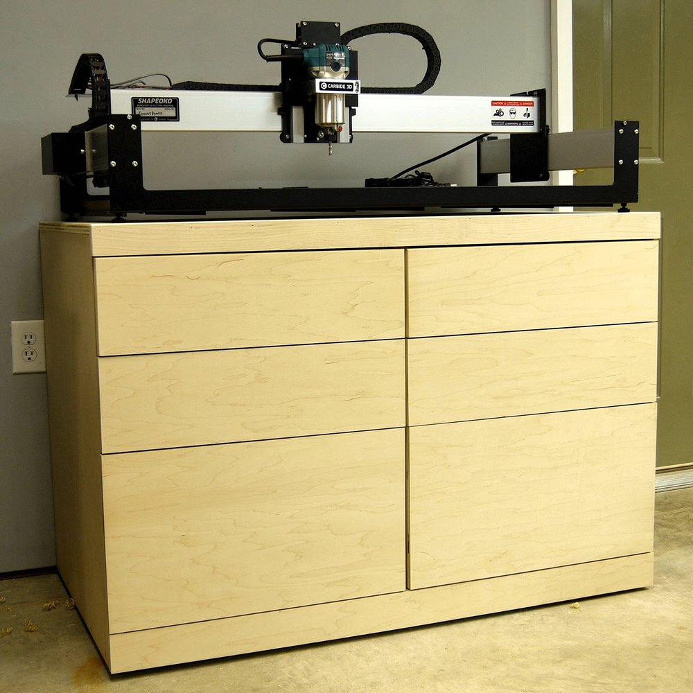 How To Build A Diy Cnc Table Tool Storage Cabinet