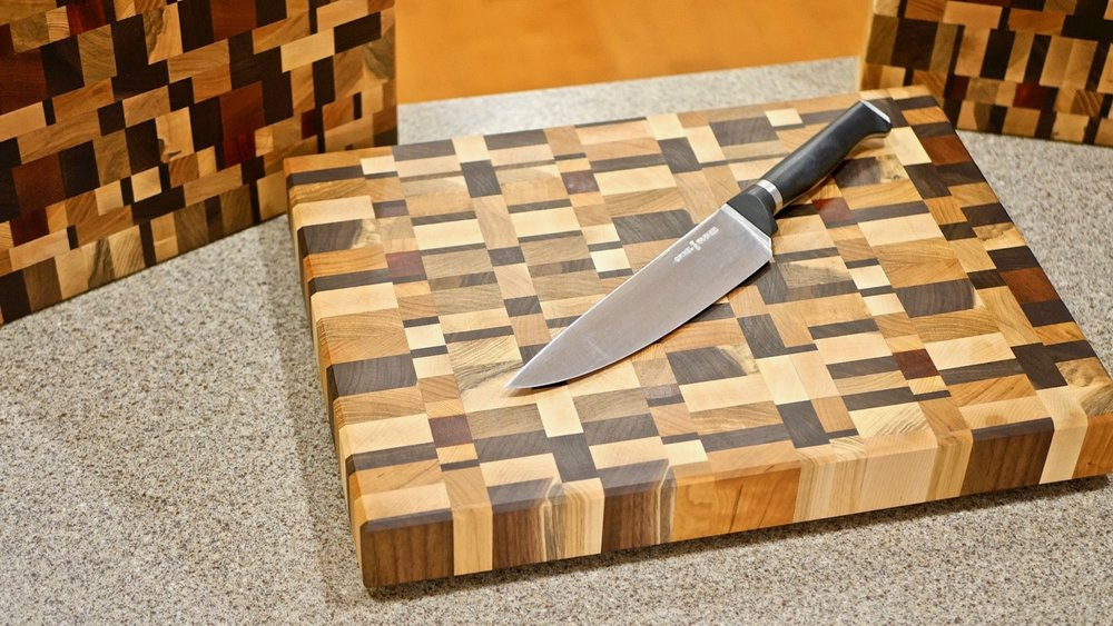 how to make end grain cutting boards from scrap wood crafted workshop