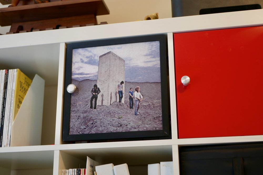 Building An Ikea Expedit Kallax Door With Vinyl Album Art