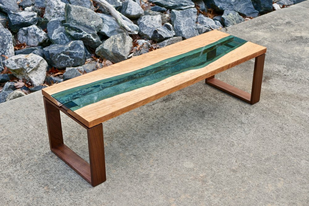 How To Build A Live Edge River Coffee Table Crafted Workshop