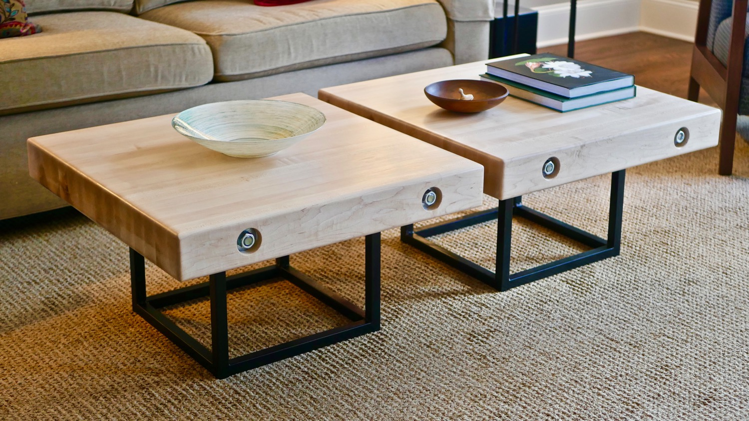 Modern Maple And Steel Coffee Table Part 1 | How To Build