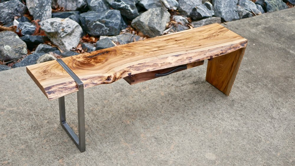 how to build a river table