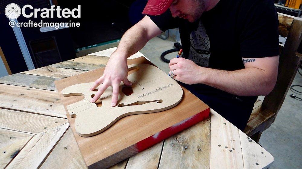 DIY Guitar (Telecaster) Build Series - 1 of 6
