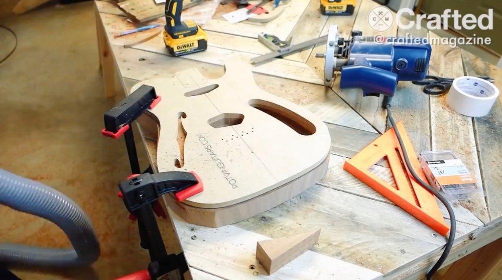DIY Guitar (Telecaster) Build Series, Part 3  - 2 of 6