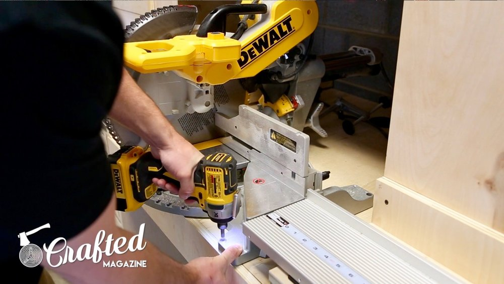 jay bates miter saw station