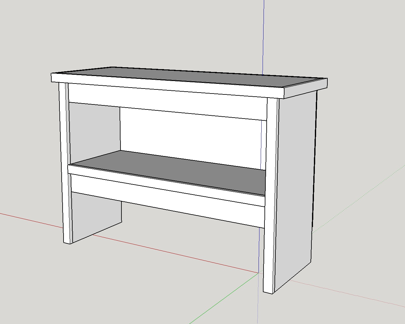 lathe stand sketchup