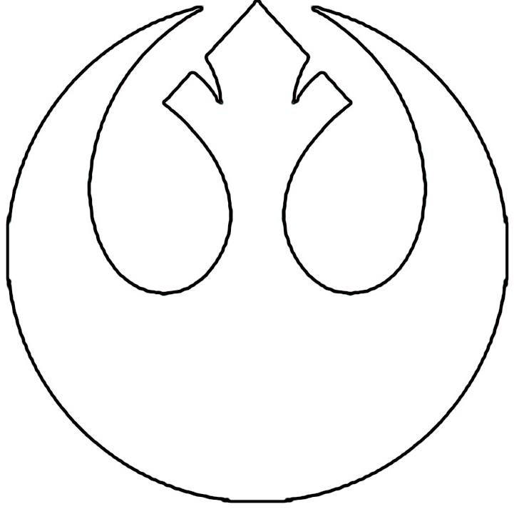 Star Wars Rebel Alliance Stencil