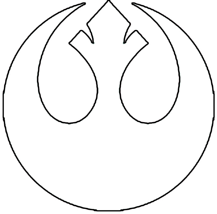 My Star Wars Tattoo Design. I love the Revenge Of The Jedi ... |Cool Rebellion Symbol