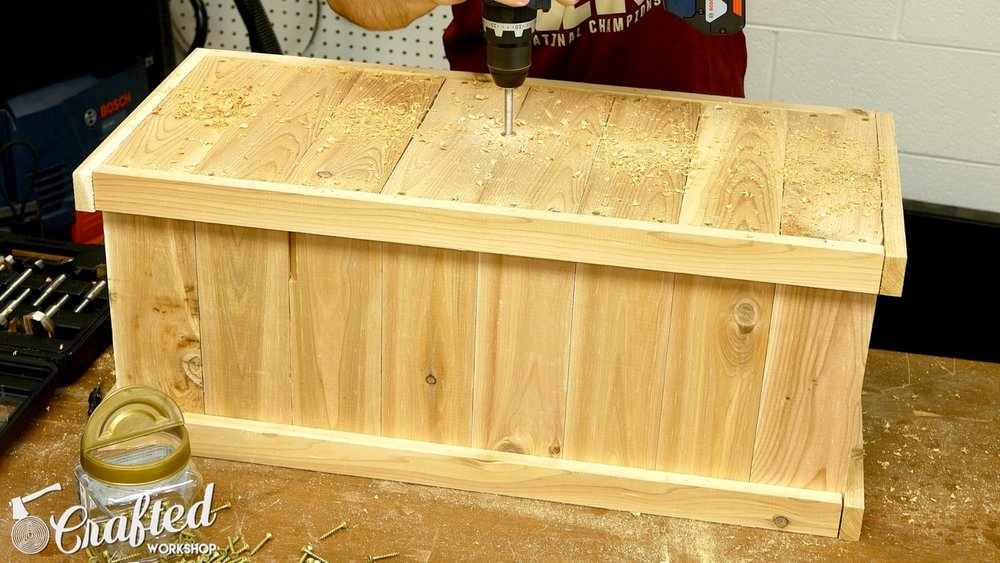 cedar planter box diy how to