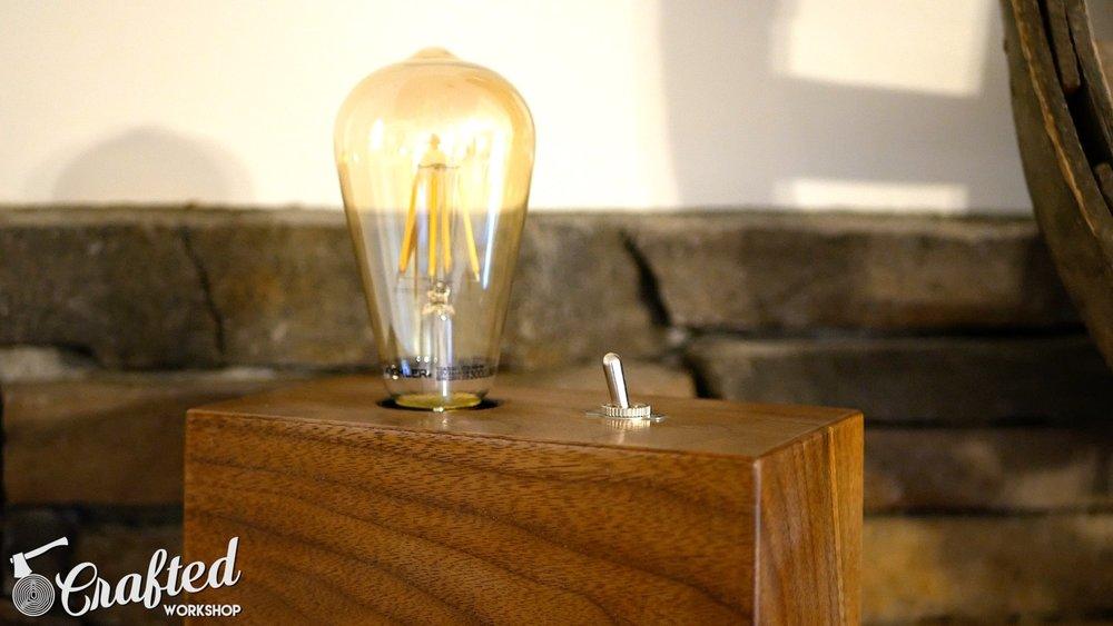 diy edison bulb lamp