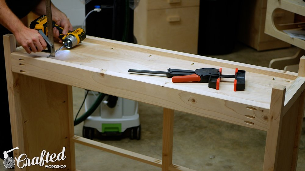 diy sideboard buffet cabinet kreg jig projects