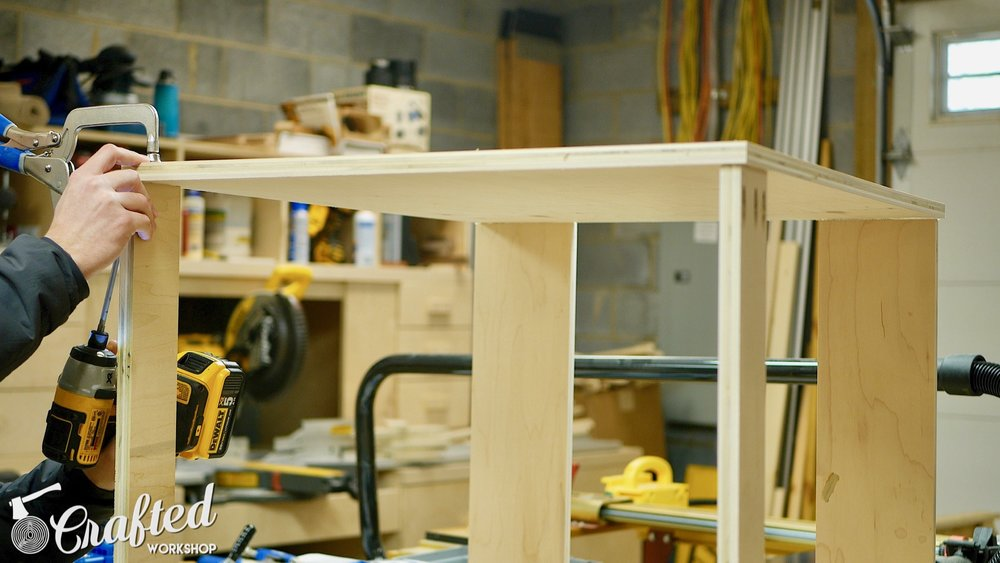 CNC Table Tool Storage Cabinet