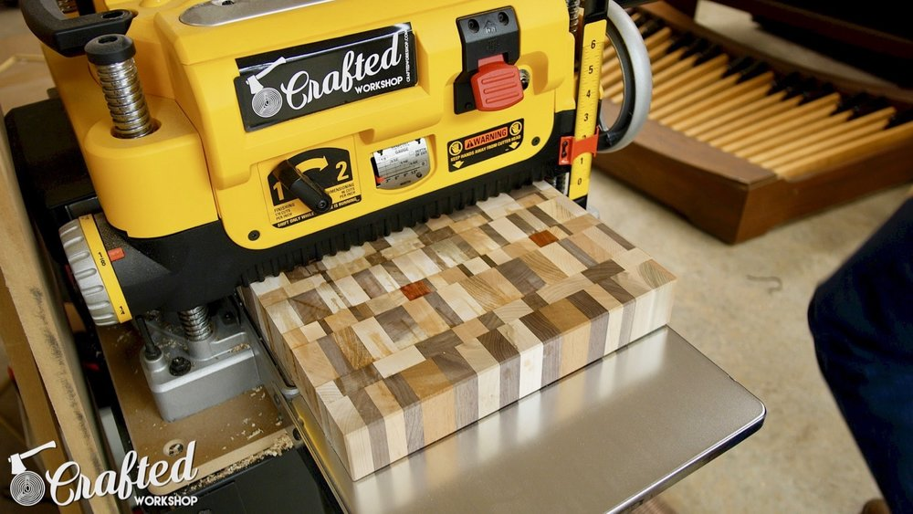 End Grain Cutting Boards Board How To DIY flatten