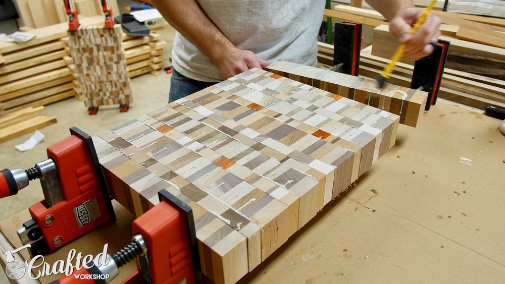 End Grain Cutting Boards Board How To DIY