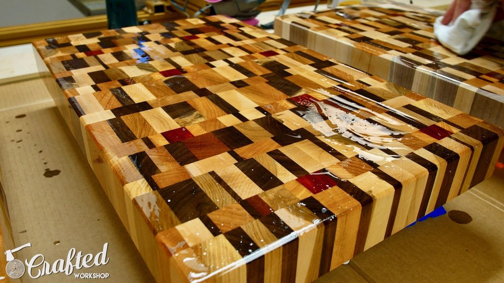 End Grain Cutting Boards Board How To Finish Finishing DIY