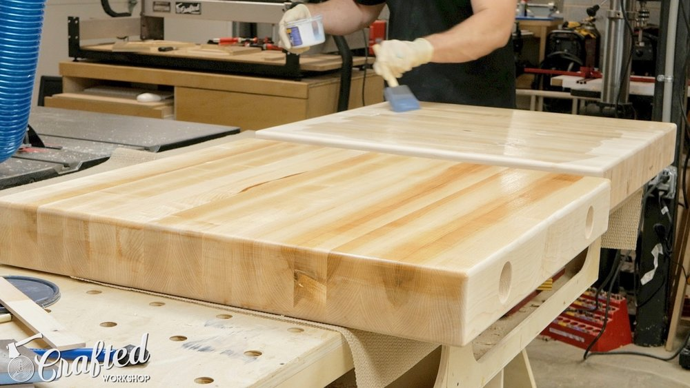 finishing hard maple with general finishes high performance