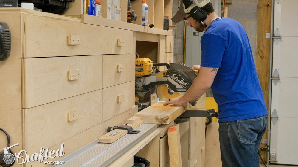 cutting hard maple on dewalt flexvolt miter saw