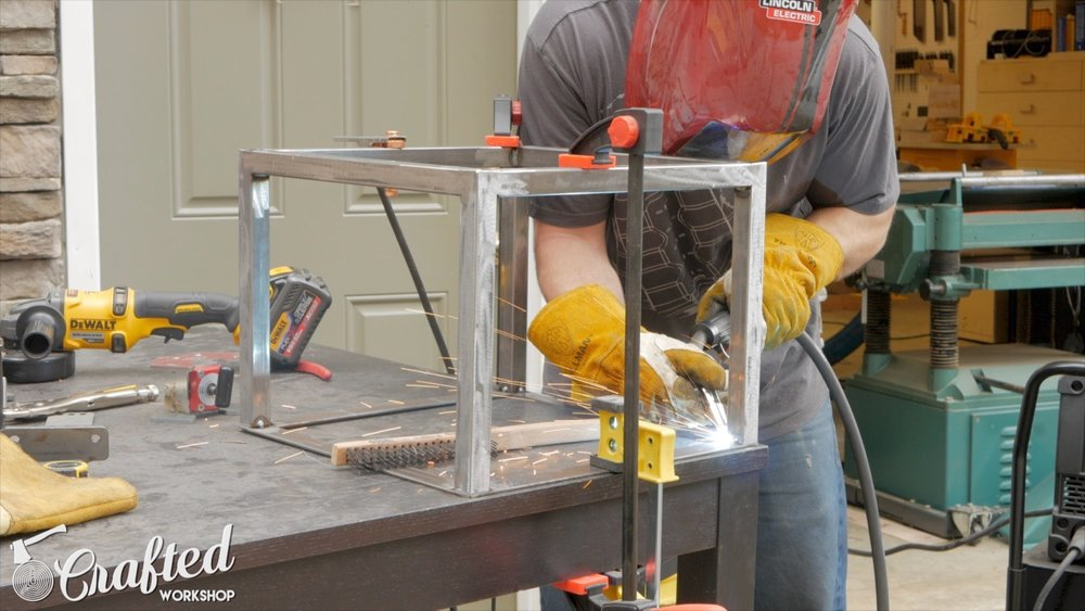 welding steel table based from square tubing