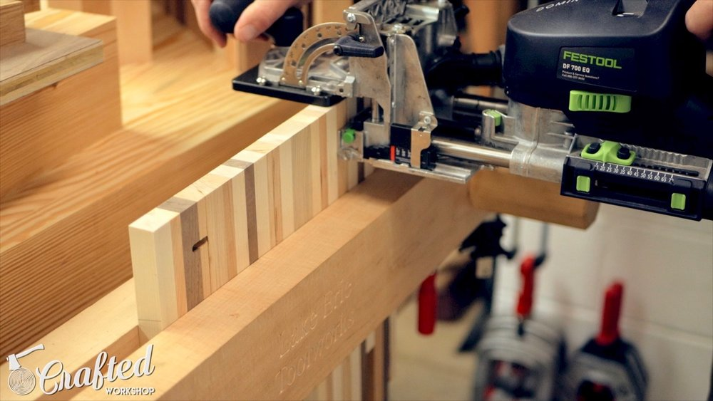 using the festool domino xl for alignment
