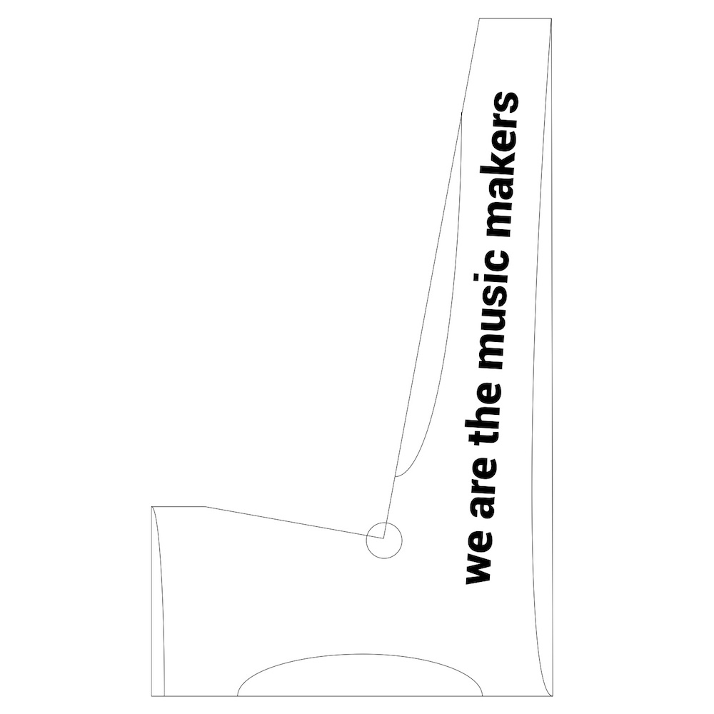 DIY Guitar Stand Template — Crafted Workshop