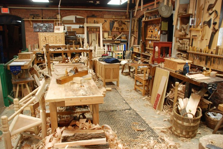 5 1 000 To Outfit A Woodworking Shop Crafted Workshop